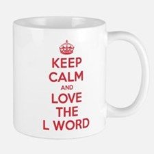 K C Love the L Word Mug