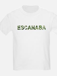 Escanaba, Vintage Camo, T-Shirt