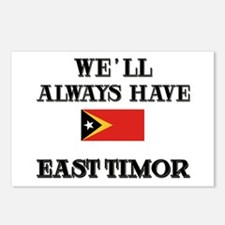 We Will Always Have East Timor Postcards (Package