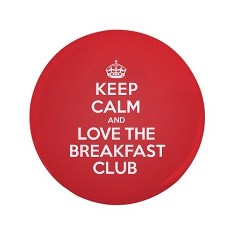 """K C Love The Breakfast Club 3.5"""" Button (100 pack)"""