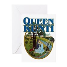 Queen Kunti Greeting Cards (Pk of 10)
