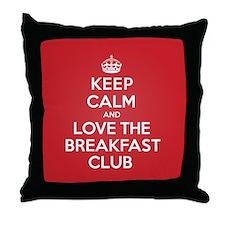 K C Love The Breakfast Club Throw Pillow
