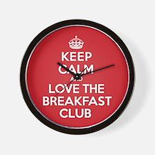 K C Love The Breakfast Club Wall Clock