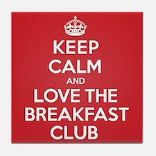 K C Love The Breakfast Club Tile Coaster