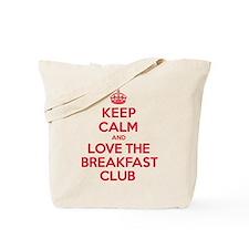 K C Love The Breakfast Club Tote Bag