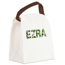 Ezra, Vintage Camo, Canvas Lunch Bag