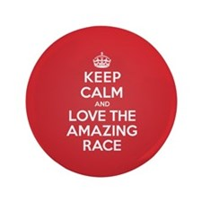 """K C Love the Amazing Race 3.5"""" Button (100 pack)"""