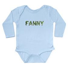 Fanny, Vintage Camo, Onesie Romper Suit