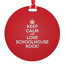 K C Love Schoolhouse Rock Ornament
