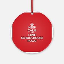 K C Love Schoolhouse Rock Ornament (Round)