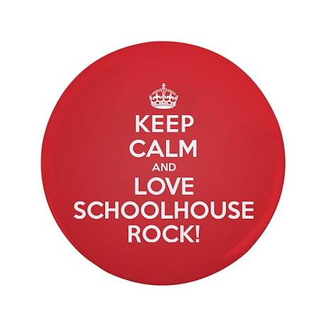 """K C Love Schoolhouse Rock 3.5"""" Button (100 pack)"""