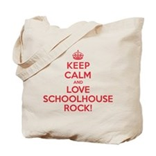 K C Love Schoolhouse Rock Tote Bag