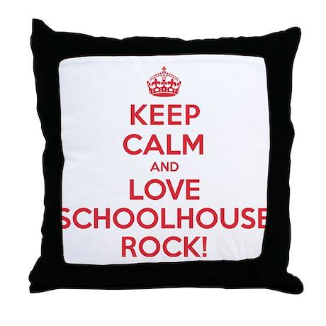K C Love Schoolhouse Rock Throw Pillow