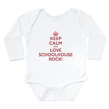 K C Love Schoolhouse Rock Long Sleeve Infant Bodys