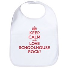 K C Love Schoolhouse Rock Bib