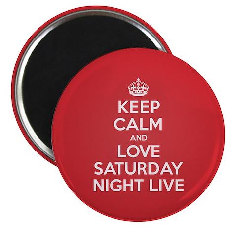 K C Love Saturday Night Live Magnet