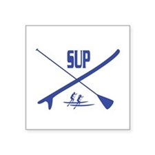 "SUP Square Sticker 3"" x 3"""
