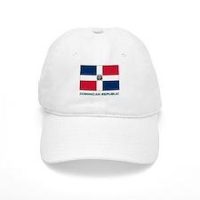 Flag of The Dominican Republi Baseball Cap