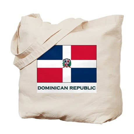 Flag of The Dominican Republi Tote Bag