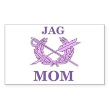 JAG MOM Rectangle Decal