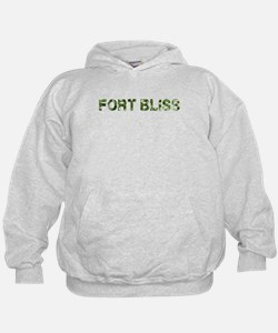 Fort Bliss, Vintage Camo, Hoodie