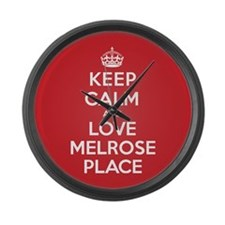 K C Love Melrose Place Large Wall Clock