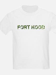 Fort Hood, Vintage Camo, T-Shirt