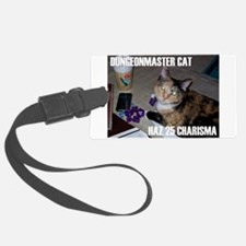 Dungeonmaster Cat Luggage Tag