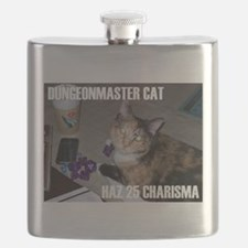 Dungeonmaster Cat Flask