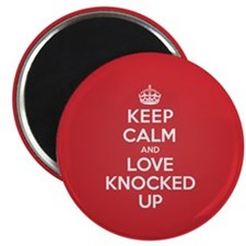 "K C Love Knocked Up 2.25"" Magnet (10 pack)"