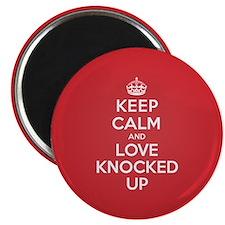 K C Love Knocked Up Magnet