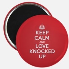 K C Love Knocked Up Magnet