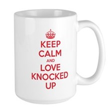 K C Love Knocked Up Mug