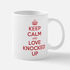 K C Love Knocked Up Mug