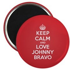 K C Love Johnny Bravo Magnet