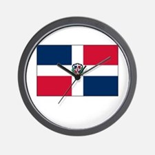 The Dominican Republic Flag Picture Wall Clock