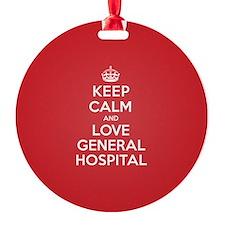 K C Love General Hospital Ornament