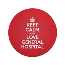 "K C Love General Hospital 3.5"" Button (100 pack)"