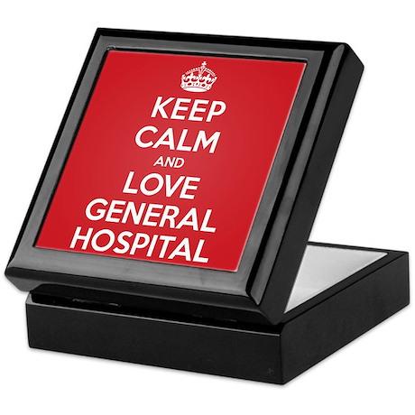 K C Love General Hospital Keepsake Box