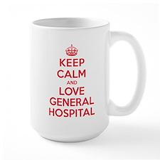 K C Love General Hospital Mug