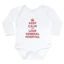 K C Love General Hospital Long Sleeve Infant Bodys