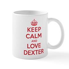 K C Love Dexter Mug