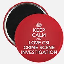 K C Love CSI Magnet