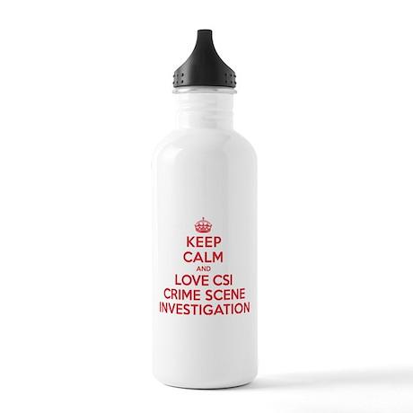 K C Love CSI Stainless Water Bottle 1.0L