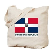 The Dominican Republic Flag Stuff Tote Bag