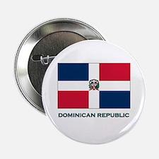 The Dominican Republic Flag Stuff Button