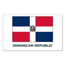 The Dominican Republic Flag Stuff Decal