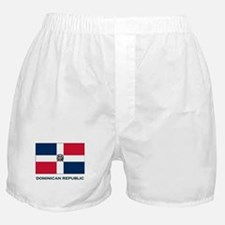 The Dominican Republic Flag Stuff Boxer Shorts