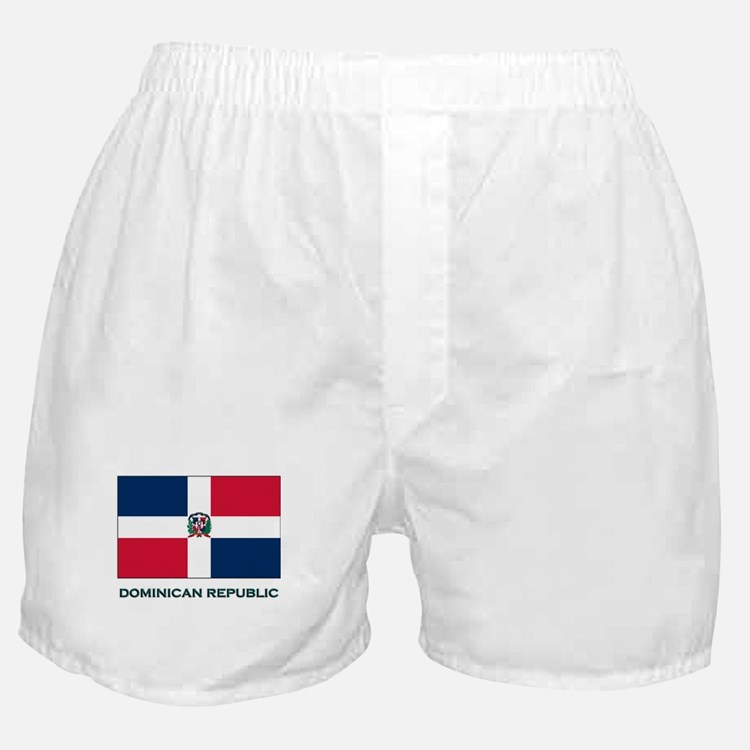The Dominican Republic Flag Stuff Boxer Shorts