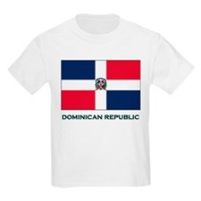 The Dominican Republic Flag Stuff Kids T-Shirt